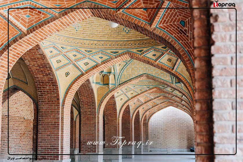 شناخت معماری مسجد کبود تبریز